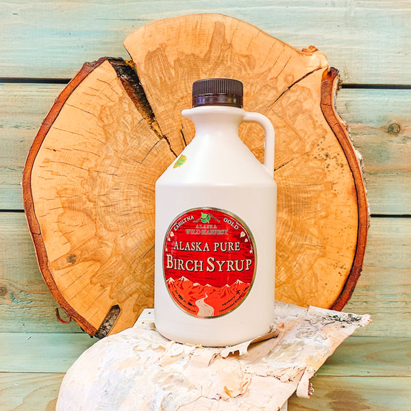 Alaska Pure Birch Syrup 32oz Jug Option