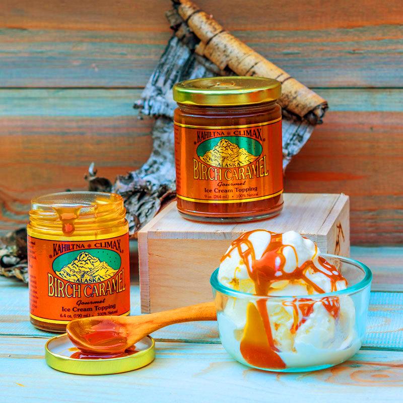 Caramel-ice-cream-topping