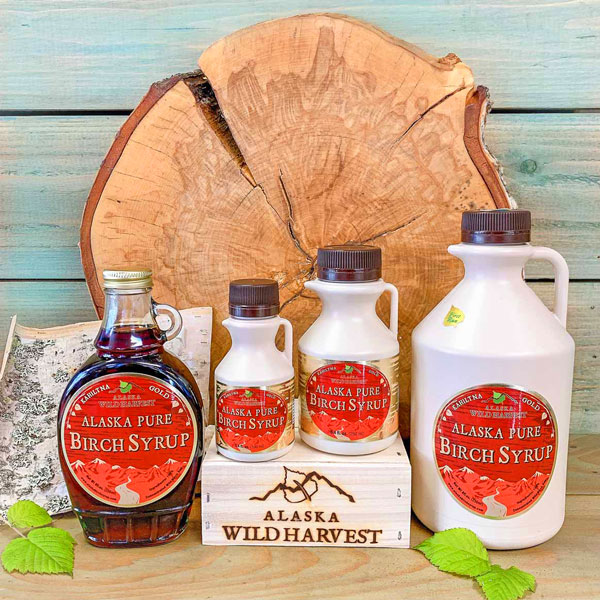Alaska Pure Birch Syrup available in multiple options