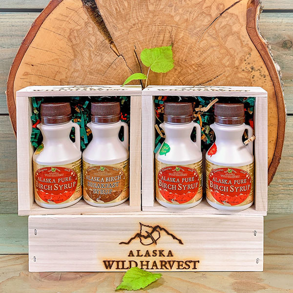 Alaska Birch Syrup Gift Crate Pick 2